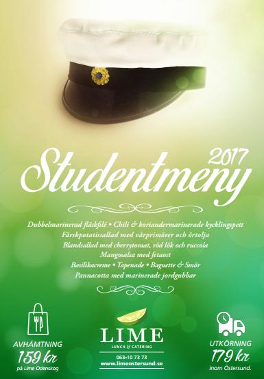 Studentmeny 2017